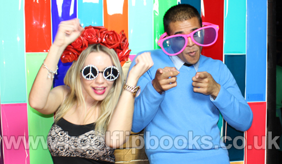 Flip Books photo booth hire london